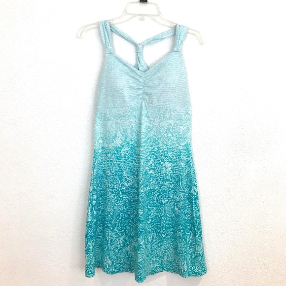 da4de4196b3 Dakini Dresses   Skirts - Dakini athletic jersey knit dress ombre shelf Bra